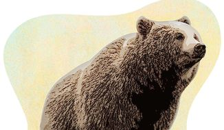 Russia Arctic Bear Illustration by Greg Groesch/The Washington Times