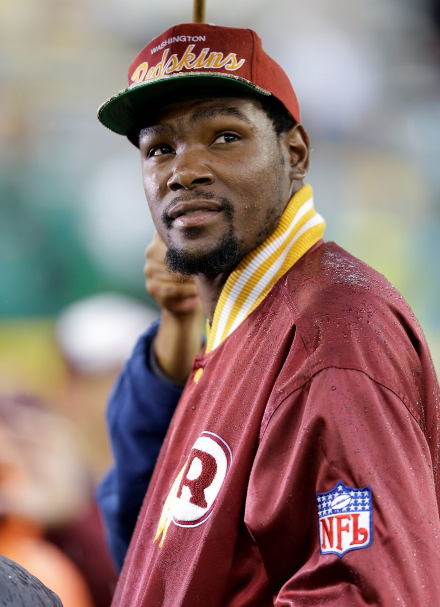 Will Maryland native and Oklahoma City Thunder star Kevin Durant come home to D.C. as a free agent in 2016? (Associated Press)