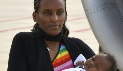 Meriam Ibrahim, who recently left her home country of Sudan after being held for refusing to recant her Christian faith, is moving to New Hampshire. (Associated Press)