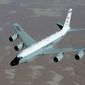 The RC-135V/W Rivet Joint reconnaissance aircraft. (U.S. Air Force) ** FILE **