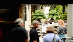 The National Bonsai and Penjing Museum at the U.S. National Arboretum, Washington, D.C., Friday, August 1, 2014. (Andrew Harnik/The Washington Times)