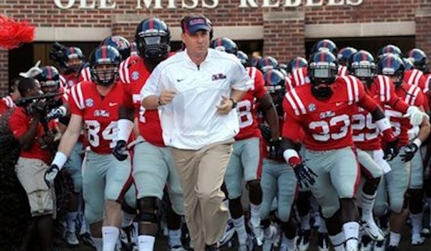 "The University of Mississippi is asking school officials to use discretion when using the ""Ole Miss"" nickname in an academic setting, because it could be interpreted as racist. (Associated Press)"