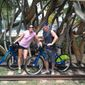 Nora Baldwin and Wayne Saward will trek through the D.C. region next month during the Ride to Conquer Cancer, a 150-mile bike ride to raise funds for cancer research. (Nora Baldwin)