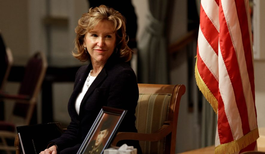 Sen. Kay R. Hagan of North Carolina has yet to have a piece of legislation named for her pass the Senate, a fact Republican opponent Thom Tillis points to as evidence she isn't helping voters. (Associated Press)