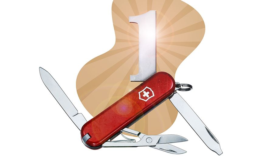 Swiss Army Knife Illustration by Greg Groesch/The Washington Times
