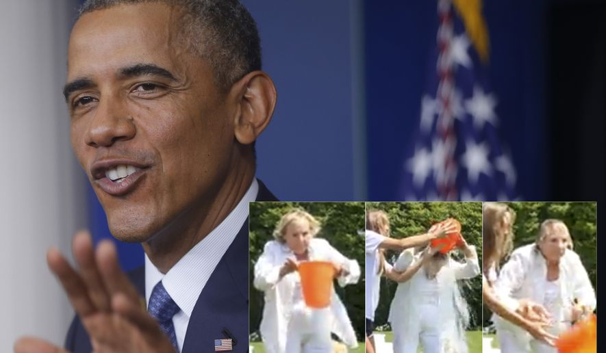 Ethel Kennedy challenges President Barack Obama to take the 'Ice Bucket Challenge' to support ALS.