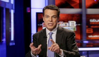 This May 24, 2011, file photo shows Fox News Channel anchor Shepard Smith in New York. (AP Photo/Richard Drew, File)