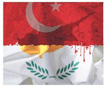 Illustration on the ongoing Turkish occupation of Cyprus by Alexander Hunter/The Washington Times