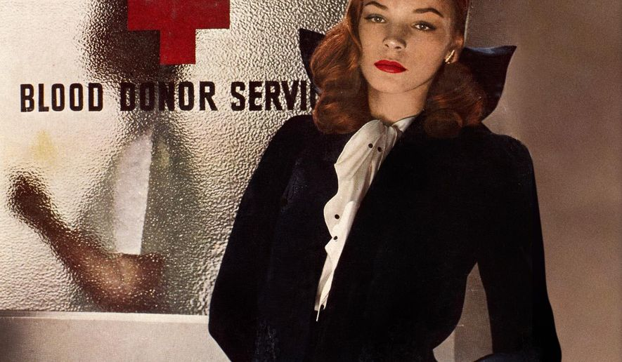 "This magazine cover image released by Hearst shows actress-model Lauren Bacall on the cover of the March 1943 issue of ""Harper's Bazaar."" (AP Photo/Hearst)"
