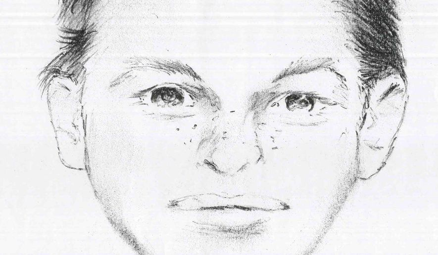 This undated artist rendering provided by the St. Lawrence County Sheriff's Office in Canton, N.Y. via the Watertown Daily Times shows 12-year-old Fannie Miller. Miller and her six-year-old sister, Delila, vanished from a roadside vegetable stand near their home in Oswegatchie, N.Y. after a white car pulled up to the farm stand on Wednesday, Aug. 13, 2014 around 7:30 p.m. The Amish sisters were dressed in dark blue dresses with blue aprons and black bonnets. (AP Photo/St. Lawrence County Sheriff's Office)