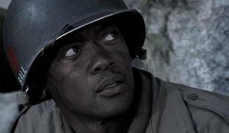 "Danor Gerald, a Mormon, costars in the film ""Saints and Soldiers: The Void."""