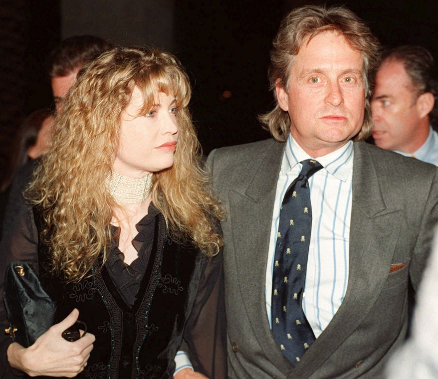 15. Diandra Douglas received $45 million after she split with Michael Douglas in 2000. FILE-Actor-director Michael Douglas and his wife Diandra arrive at the second Barbara Steisand concert at the MGM Grand Hotel in Las Vegas Jan.1,1994. (AP Photo/Reed Saxon)