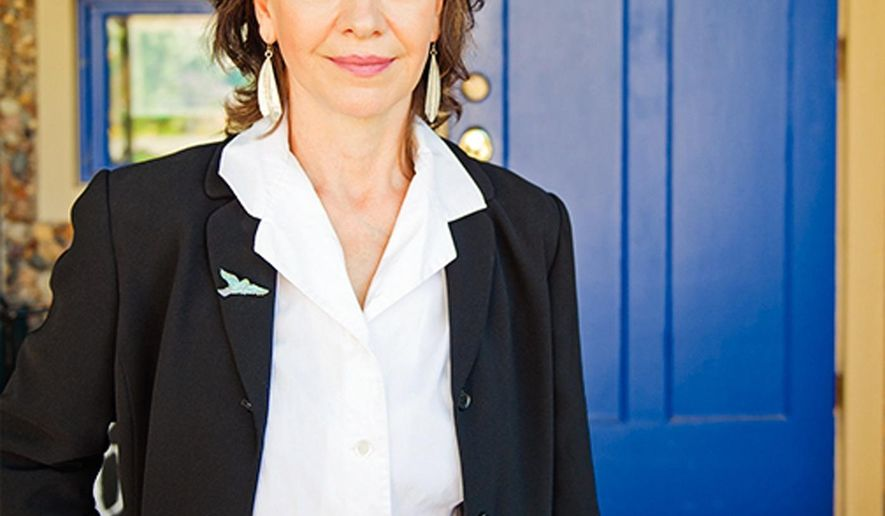 This Aug. 16, 2014 photo provided by Harper Collins shows author Louise Erdrich. Erdich on Sunday, Aug. 17, 2014 was named winner of the Dayton Literary Peace Prize's Richard C. Holbrooke Distinguished Achievement Award. Named for the late U.S. diplomat who brokered the 1995 Dayton peace accords on Bosnia, the award honors writers whose body of work promotes peace and global understanding. (AP Photo/Harper Collins, Paul Emmel)