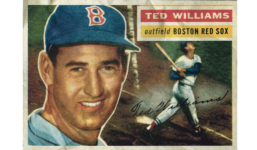 Ted Williams Baseball Card