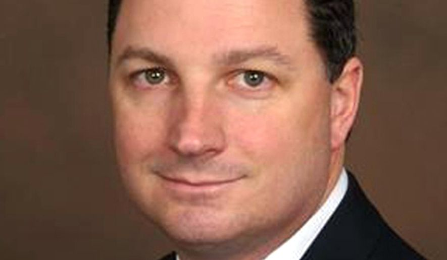 This photo provided by Huston Campaign shows Indiana state Rep. Todd Huston. Huston, an influential Republican lawmaker, played a key role in selling $1.7 million of videoconferencing equipment to the state that officials later determined to be a waste of money, despite his own promise not to blur the lines between the state agency and state contractor he worked with for four years. (AP Photo/Huston Campaign via The Indianapolis Star)
