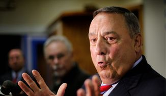 Gov. Paul LePage has created controversy by criticizing the federal government's placement of eight immigrants in his state. (Associated Press)