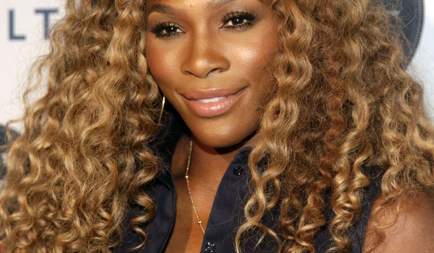 Tennis player Serena Williams attends the Delta Open Mic with Serena Williams event Wednesday, Aug. 20, 2014 in New York. (Photo by Andy Kropa/Invision/AP)