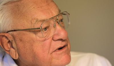 Former Illinois Gov. George Ryan served nearly six years for a 2006 conviction of racketeering, conspiracy, tax fraud and making false statements to the FBI. (Associated Press)