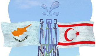 Sharing Cypriot Natural Resources Illustration by Greg Groesch/The Washington Times