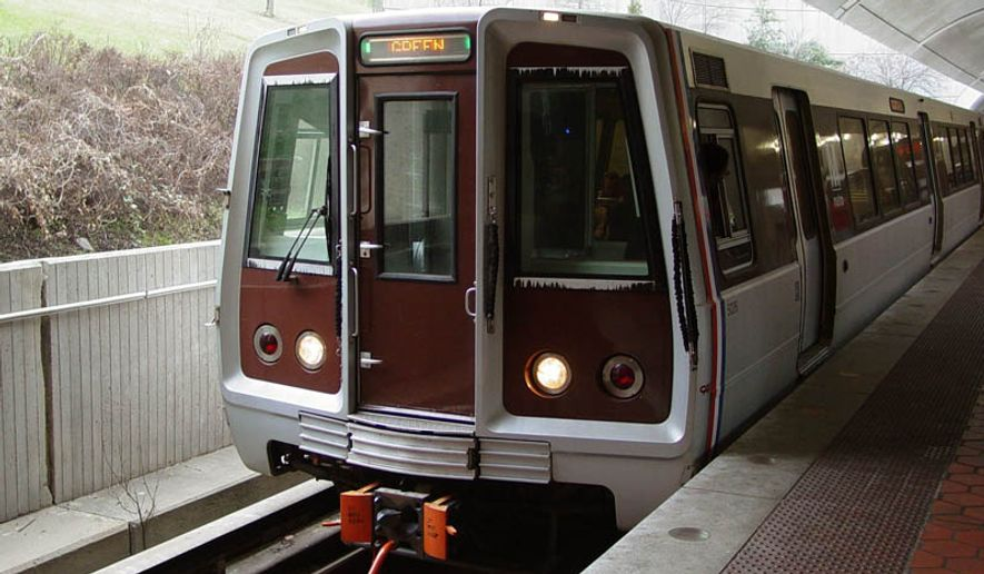 The Washington, D.C., Metro Green line. (Image: Wikimedia Commons)