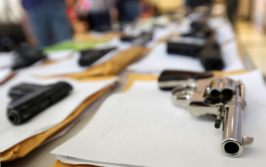 Chicago police have seized nearly 3,400 illegal firearms so far this year. Despite Illinois' concealed carry law, police Superintendent Garry F. McCarthy gives greater credit to more vigilant police work for improvements in the Windy City's violent crime statistics. (associated press)