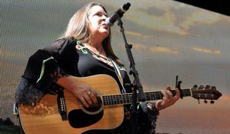 "Carlene Carter, fourth generation member of the Carter Family, is touring behind her latest album, ""Carter Girl"" with a stop Thursday at the Birchmere in Alexandria. (Associated Press)"