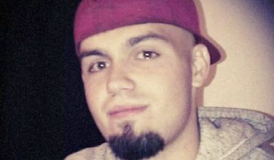 Unarmed: Dillon Taylor, 20, who was shot and killed by a Salt Lake City police officer outside a convenience store. (Facebook)