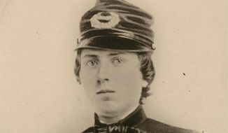 Alonzo Cushing photo provided by the Wisconsin Historical Society shows First Lt. Alonzo Cushing. A Civil War soldier is to be honored with the nation's highest military decoration 151 years after his death.The White House announced Wednesday that President Barack Obama will give the Medal of Honor to Alonzo H. Cushing. His descendants and Civil War buffs have been pushing for the Union Army lieutenant killed at Gettysburg, Pennsylvania to receive the award. (AP Photo/Wisconsin Historical Society)