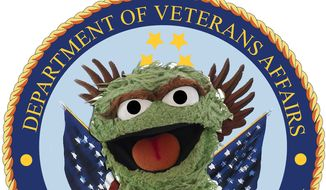 Oscar the Grouch photo illustration