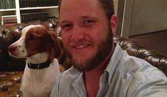 Ralph Weems, a 32-year-old Marine and Iraq war veteran, was in fair condition Monday, recovering in a Tupelo hospital after he was badly beaten. (Facebook/The Clarion-Ledger)