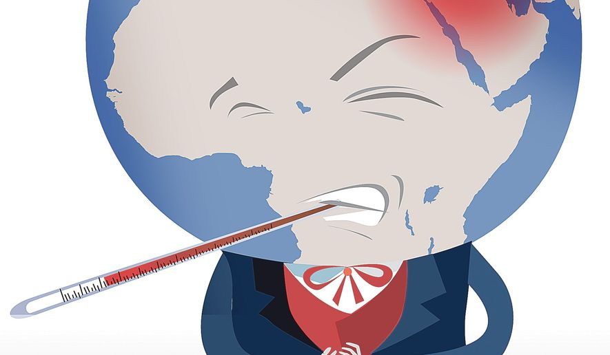 Mideast Makes the World Sick Illustration by Linas Garsys/The Washington Times