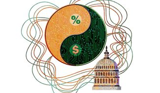 Congressional Internet Regulation and Taxation Plan Illustration by Greg Groesch/The Washington Times