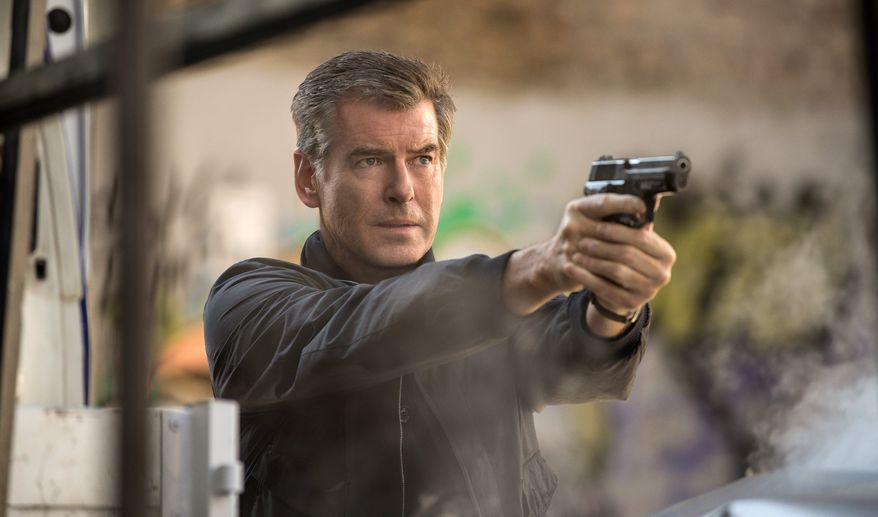 """The November Man"" stars Pierce Brosnan (above) as Peter Devereaux, who left the spy life after a mission had gone bad. Several years later, Devereaux is called back into action after his trainee, played by Luke Bracey (below), gets into trouble. (Photographs by Relativity Media via Associated Press)"