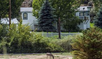 This Wednesday, Aug. 20, 2014 photo shows the home outside of Pocatello, Idaho where authorities pulled out nine boys who were sent there for repentance missions by Warren Jeffs. On Thursday, Aug. 28, 2014, Nathan C. Jessop, a polygamous man who oversaw the home, pleaded guilty to three counts of child abuse. The boys were removed in July 2014 after the alleged abuse was reported by a boy who escaped. Jeffs is in a Texas prison, where he is a serving a life sentence for sexually assaulting underage girls he considered brides. (AP Photo/The Salt Lake Tribune, Chris Detrick)
