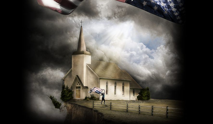"""One Generation Away, a feature-length documentary, explores the erosion of religious freedom in America - and debuted in a church. (Image from EchoLight Studios)"