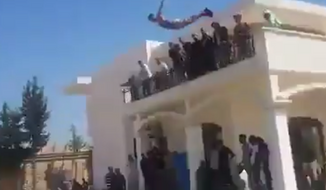 Islamists who gained control of a U.S. Embassy residential compound in Libya last week posted a video online of the men throwing a spring break-like pool party at the property. (YouTube)