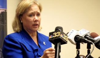 Sen. Mary L. Landrieu, Louisiana Democrat. (Associated Press) ** FILE **