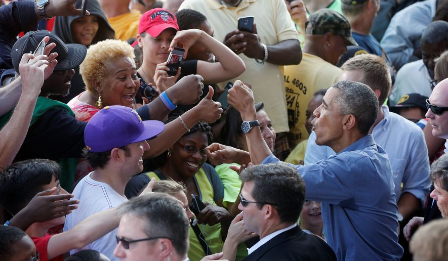 In his Labor Day speech, President Obama tried to boost his administration's standing with the labor movement after a series of high-profile clashes. Most recently, AFL-CIO President Richard Trumka took aim at Mr. Obama's economic team, saying not enough progress has been made on behalf of the working class. (Associated Press)