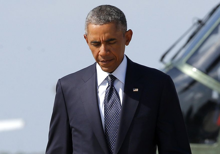 President Obama is pondering more unilateral steps on immigration. He said the moves are justified by a broken system and the need to keep families together in the U.S. (Associated Press)