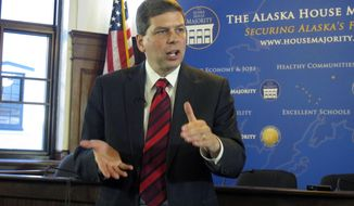 U.S. Sen. Mark Begich, D-Alaska. (AP Photo/Becky Bohrer, File)