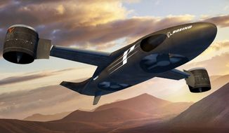 An artist's rendering of what Boeing's Phantom Swift X-Plane will look like upon completion. (Image: Boeing)