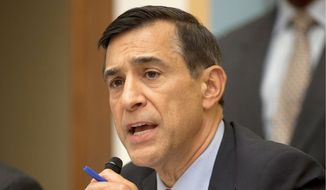 House Oversight Committee Chairman Darrell Issa, California Republican (Associated Press) **FILE**