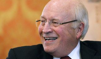 Former Vice President Dick Cheney (Associated Press/Wyoming Tribune Eagle) **FILE**