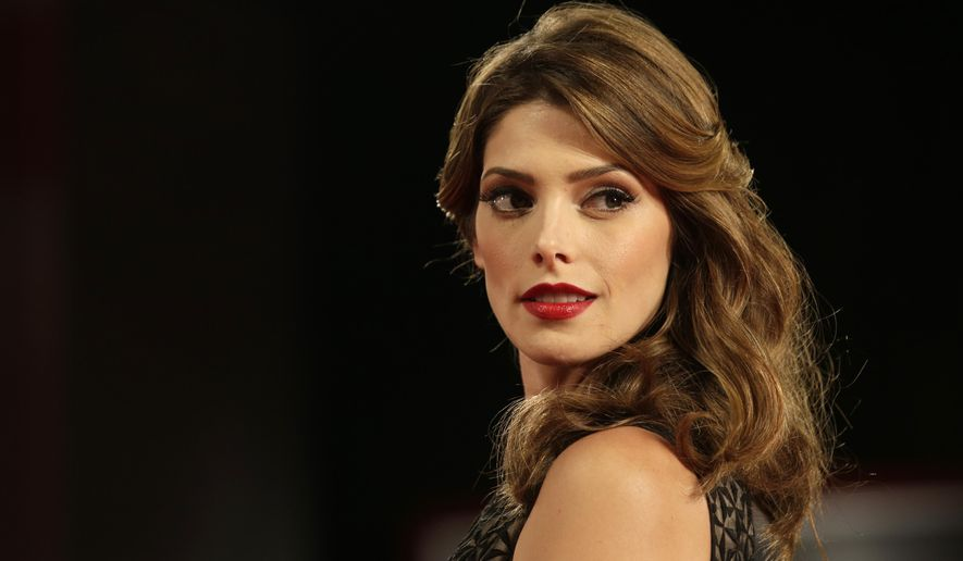Actress Ashley Greene arrives for the screening of Burying the Ex at the 71st edition of the Venice Film Festival in Venice, Italy, Thursday, Sept. 4, 2014. (AP Photo/David Azia)