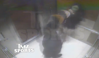 Shocking video has emerged that reportedly shows Baltimore Ravens running back Ray Rice punching out his then-fiancee' in an Atlantic City casino elevator. (TMZ Sports)