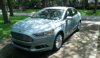 The 2014 Ford Fusion Energi (Photos by Russell Dandridge)