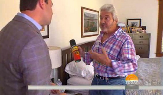 """A segment on NBC's """"Today"""" show asking how to protect your family from a home invasion made no mention of guns and instead suggested that homeowners keep a can of wasp spray next to their bed as a substitute for Mace. (Today)"""