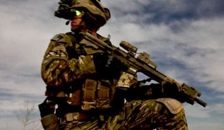 A soldier from the U.S. Army 75th Ranger Regiment. (Image: Facebook, 75th Ranger Regiment)