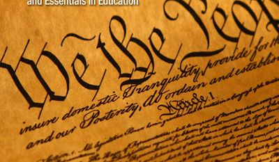 The Washington Times' Pocket Constitution App, developed with the Essentials in Education, is making its debut on the 10th anniversary of Constitution Day.