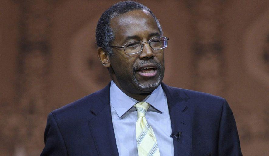 Dr. Ben Carson has won yet another straw poll to be the GOP's 2016 presidential nominee. (Associated Press)